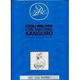 1987 San Marino fogli di...
