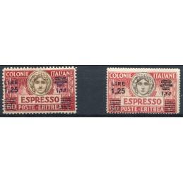 1927/37 Eritrea Espressi,...