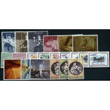 1969 SAN MARINO ANNATA CPL    MNH   INT151