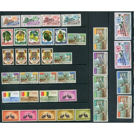 1961   REPUBLIQUE DE GUINEE +  AIR MAIL  MNH  CAT. 63   INT482