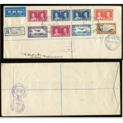 1937 NEW ZEALAND AIR MAIL...