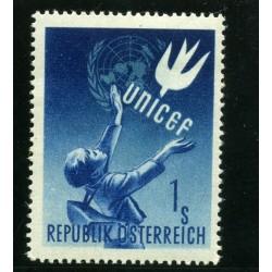 1949 AUSTRIA UNICEF N.777...