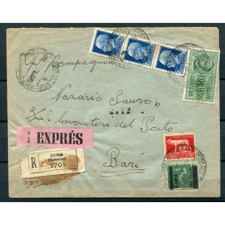 1931 Eritrea Vitt. Emnuele 3° n.195/202 cat 30 mh cat. 34