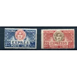 1921 LIBIA ESPRESSI TURRITA...