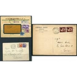1947/50 ITALIA LOTTO DI N.3...