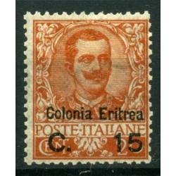 1905 ERITREA SOPRESTAMPATO...