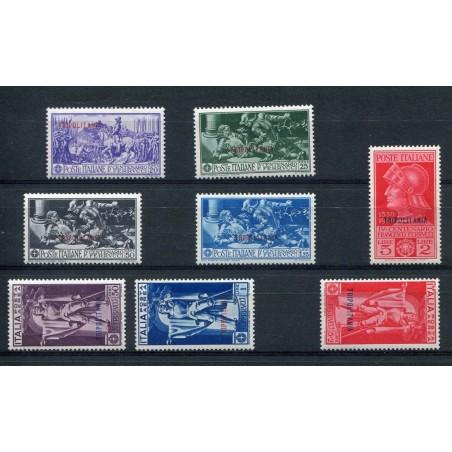 1930 TRIPOLITANIA FERRUCCI + P.A. N.64/68 + A1/3 MNH CAT. 350 MNH D815