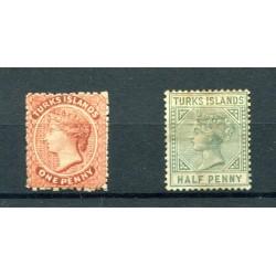 1867/82  TURKS ISLAND QUEEN...