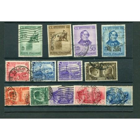 1939/42  ITALIA REGNO N.449/457 + 466/69   PIC124