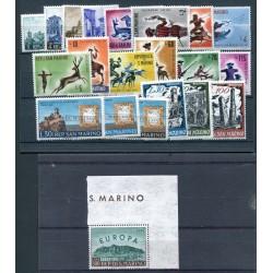 1961 San Marino annata  mnh