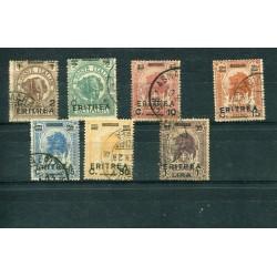 1922 Eritrea soprastampati...