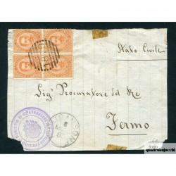 1885 UMBERTO 1° C. 20 N. 39...