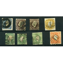 1855/80 PORTOGALLO LOT OF 8...