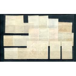 1909 - SOMALIA - SEGNATASSE SOPRASTAMPATI N° 12/22 MNH BELLI CAT 2750 ALB152