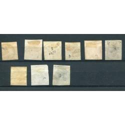 1955 ITALIA PACCHI IN CONCESSIONE £.70-75-110 FIL. STELLE N.8-9-12  MNH   ALB023