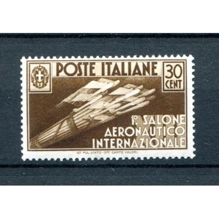1935 ITALIA REGNO SALONE AEREONAUTICO C.30 N.385   MNH  I186