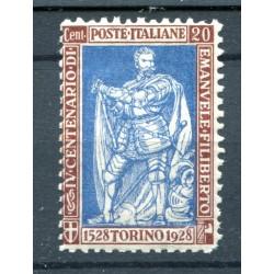 1928 ITALIA REGNO EMANUELE...