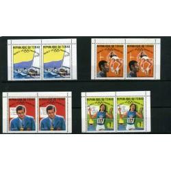 1987 SAN MARINO FDC - UN MUSEO ALL'APERTO - SERIE COMPLETA SI 3 BUSTE -- DNT044