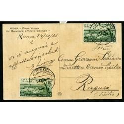 1936 CARTOLINA DI ROMA CON...