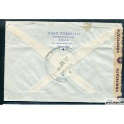 1939 ITALIA RACC. PER LA SVIZZERA CON IMPERO BELLA 3 COLORI B446