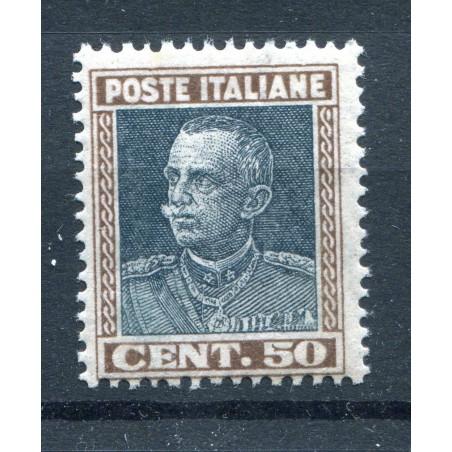 1927 ITALIA REGNO VITT. EMANUELE 3° C.50 N.218  FOTO DI ESEMPIO    MNH I809