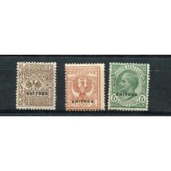 1924 Eritrea soprastampati...