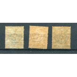 1921 DALMAZIA OCCUPAZIONE ITALIANA SEGNATASSE N.1/4 MNH  INT104
