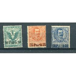 1902 Regno Levante n.4/6 mh...