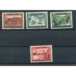 1945 Austria n.629B/632B...