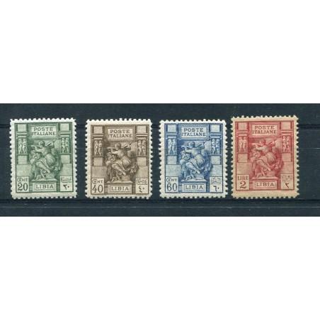 1926/29 Regno Libia Sibilla Libica n.54/57 mnh cat.600