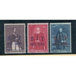 1930 Belgio soprastampati...