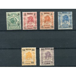 1922 Somalia Elefante o...