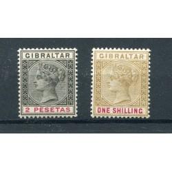 1895/98 Gibilterra n.32 -36...