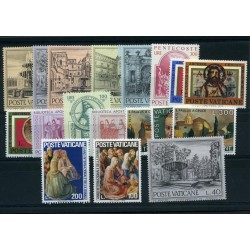1975 Vaticano annata cpl mnh