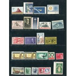 1962/63 Stati Uniti mnh