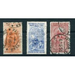 1850  LOMBARDO VENETO C.15 -30-45 USATI MOLTO BELLI ONT650