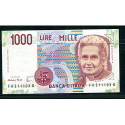 LIRE 1000 MONTESSORI 1998 H...