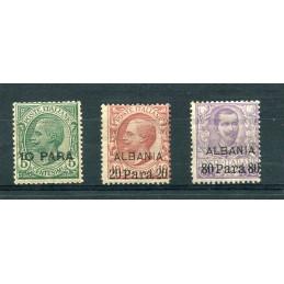1902 Albania soprastampati...