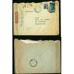 AL068 1957 POSTA AEREA...