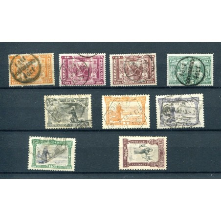 1894/95 PORTOGALLO USATO  H860