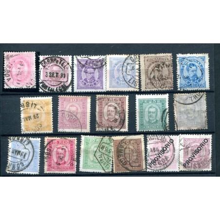 1892/94 PORTOGALLO  RE CARLO I°  USATO  H861