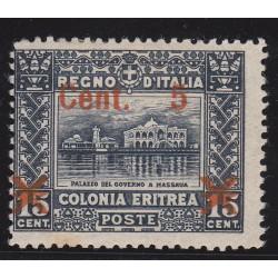 1916 SOMALIA SOPRASTAMPATO...