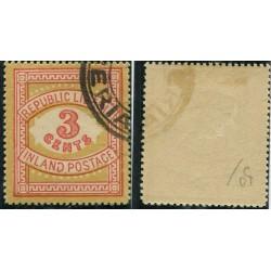1897 LIBERIA POSTAGEDUE...