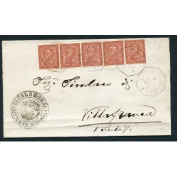 1886 Collettoria ottagonale...
