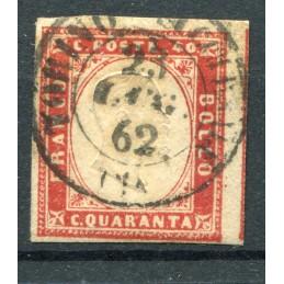 1863 Sardegna c. 40 n. 16...