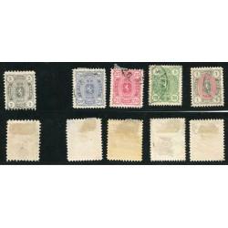1875/1885 FINLANDIA USATI -...