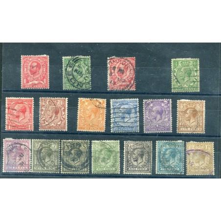 1911/24 GREAT BRITAIN GEORGE V° USED AL358