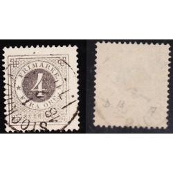 AL487 1872/9 SVEDEN 4 ORE...