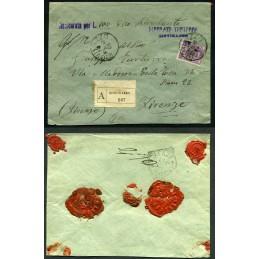 1906 Floreale c.50 isolato...