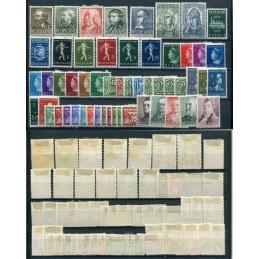 1939/40 Olanda  lotto di...